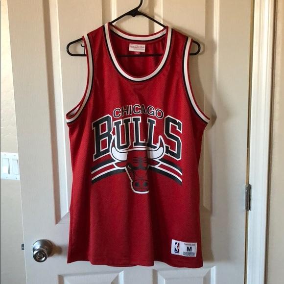 buy online 929f8 5c64b Mitchell & Ness Chicago Bulls Jersey